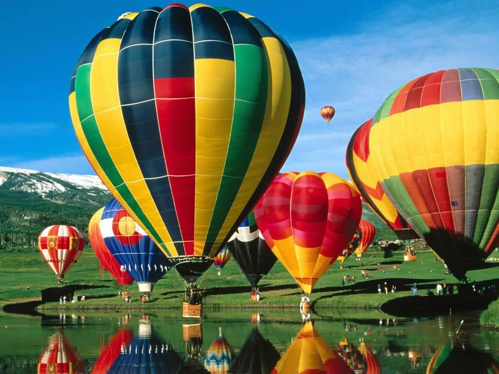you need to write an essay about hot air ballooning
