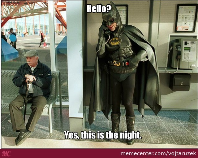 batman phone call