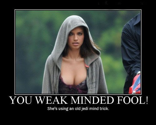 weak minded fool