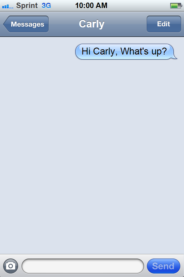 carly messag