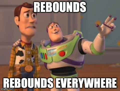 rebounds everywhere