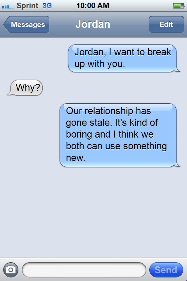 12 Nice Ways To Break Up With The Guy You re Kinda Dating