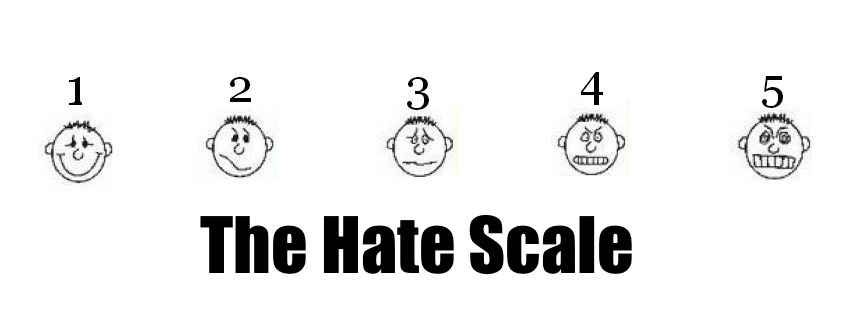 hate scale
