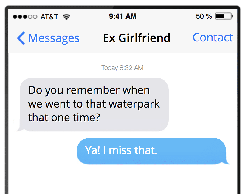 I Miss My Ex So Much It Hurts, How Should I Tell Her?